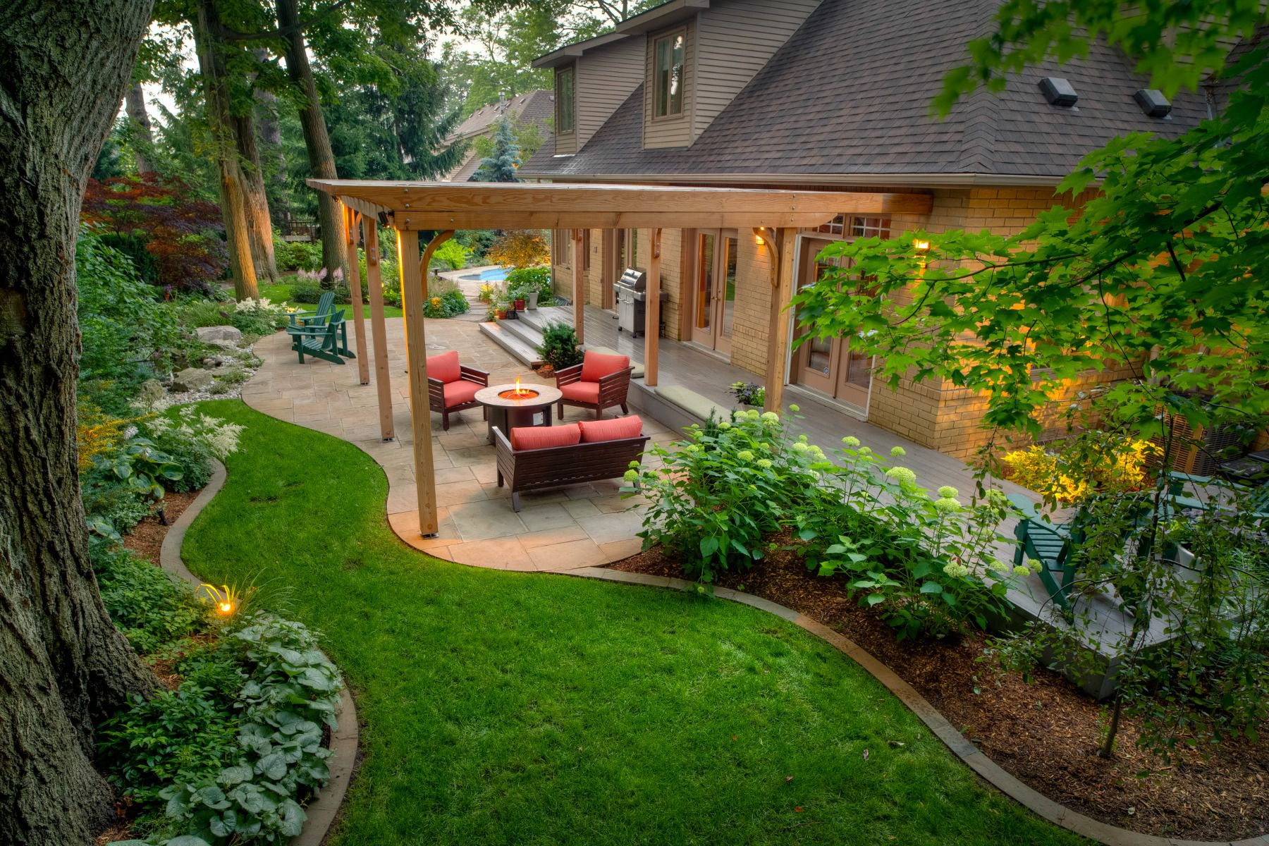 49 Backyard Landscaping Ideas to Inspire You on Backyard Garden Design id=82762