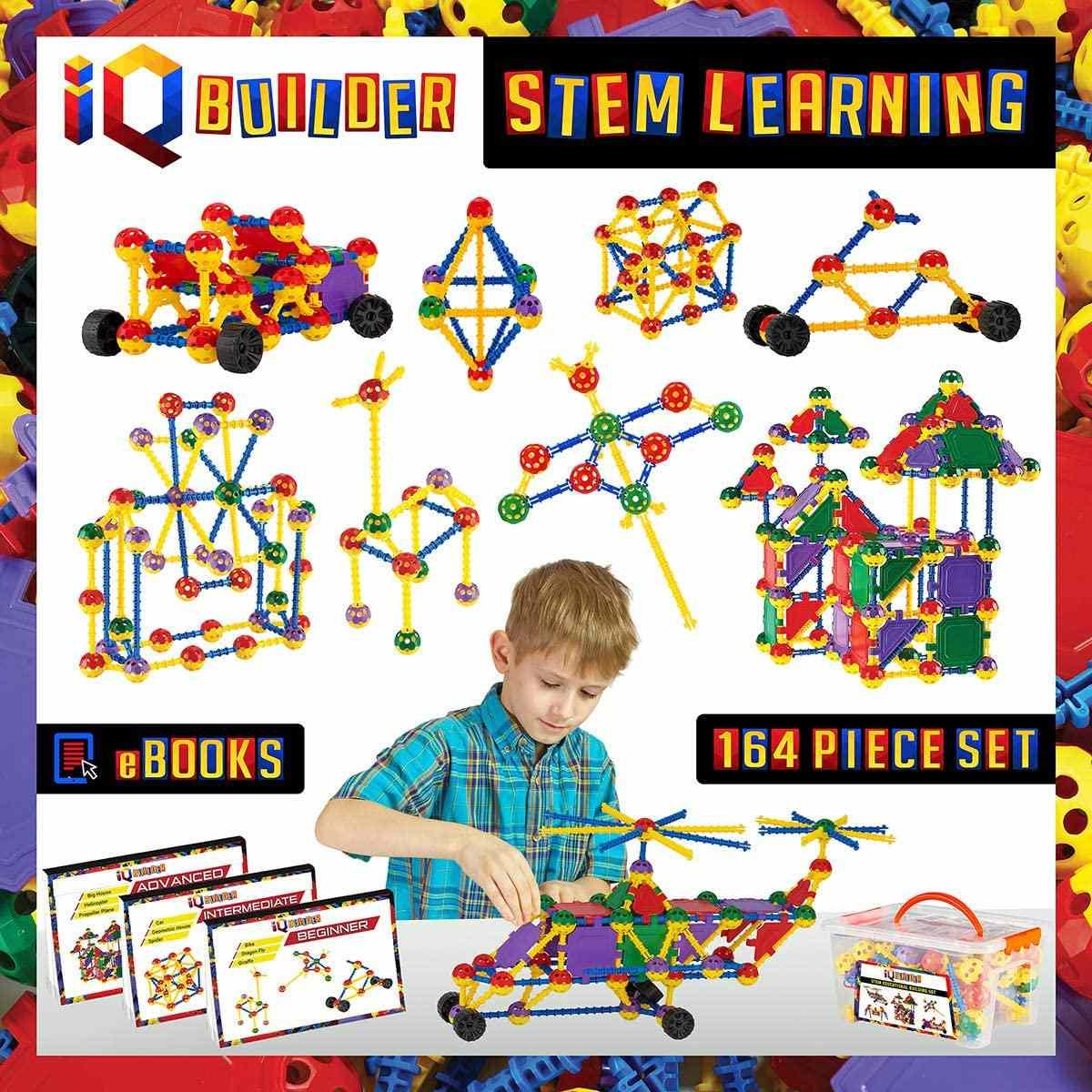 IQ BUILDER STEM Construction Set