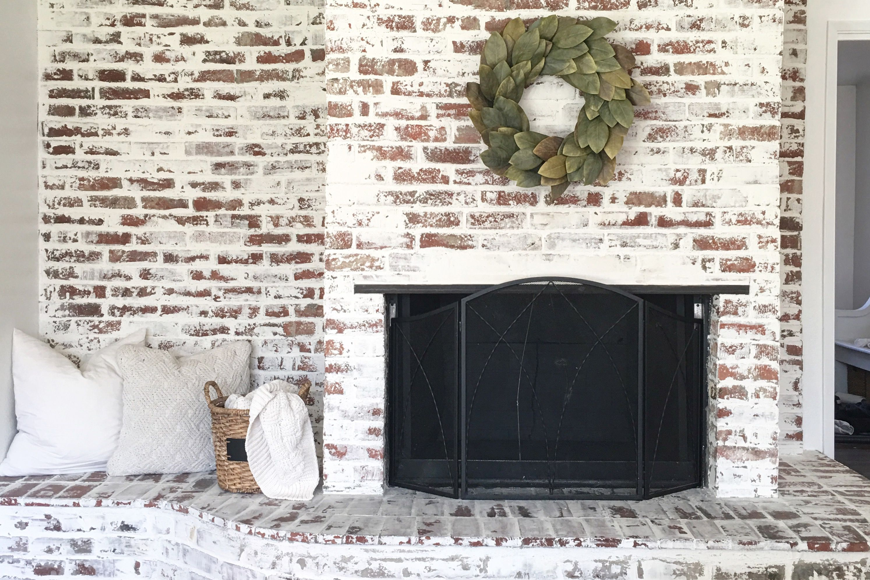 Diy tips for updating your home fireplace edition - How to make a brick fireplace look modern ...