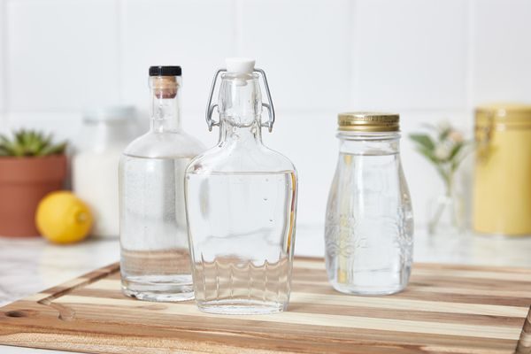 make your own cleaning spray from high-proof alcohol