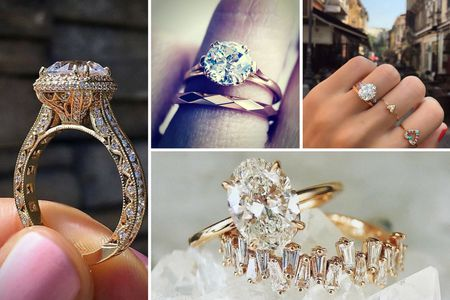 0729652a779ba Most Popular Engagement Ring Styles