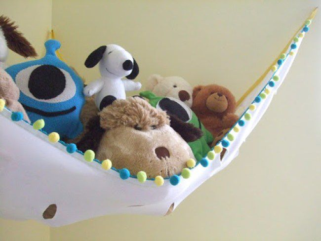 DIY stuffed animal hammock tutorial