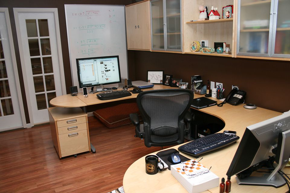 An example of a functional home office