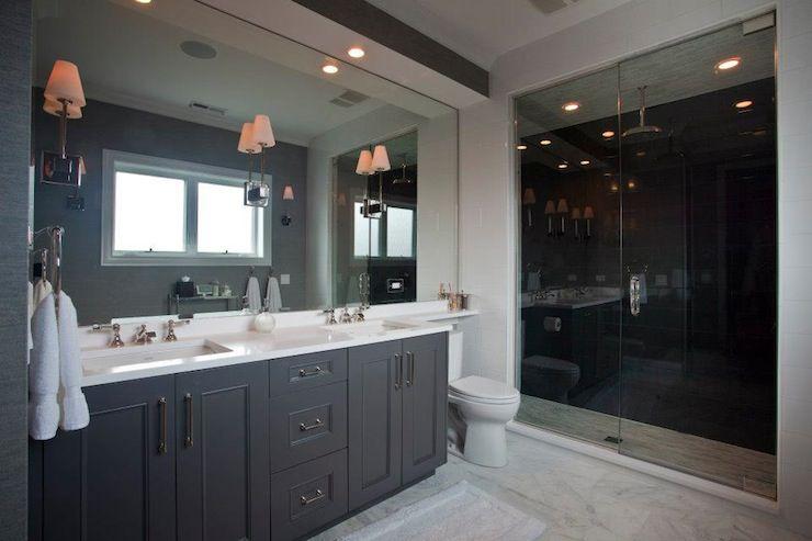 gray bathroom mirror master bathroom 26 ideas for beautiful gray bathrooms
