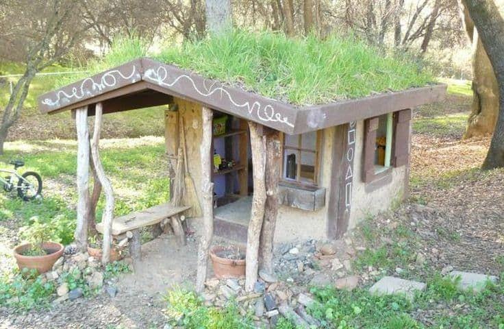 Hobbit hole tree house