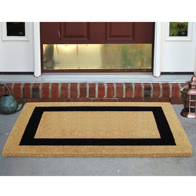 Alvardo Single Picture Frame Doormat