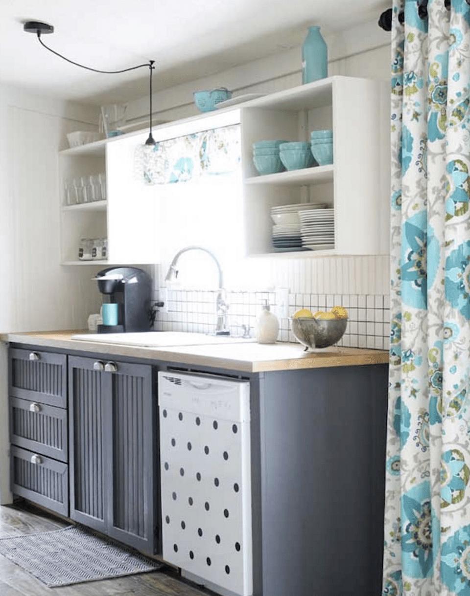 Sherwin Williams Requisite Gray Kitchen