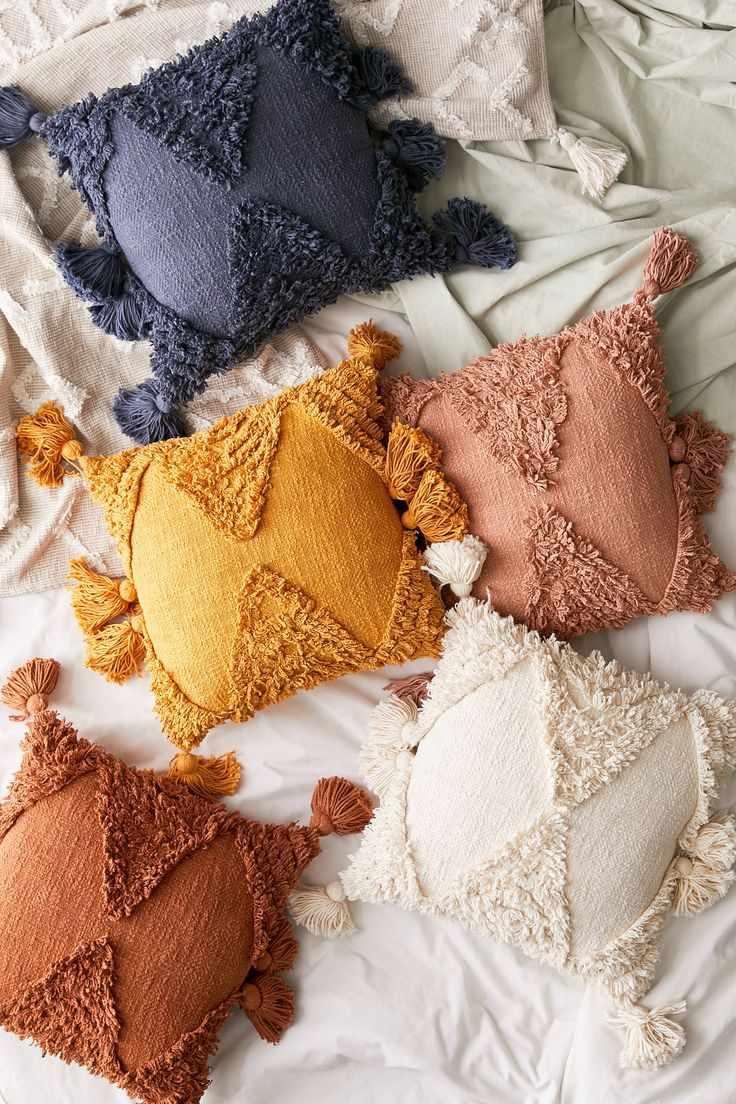 Rumi Shag Throw Pillow
