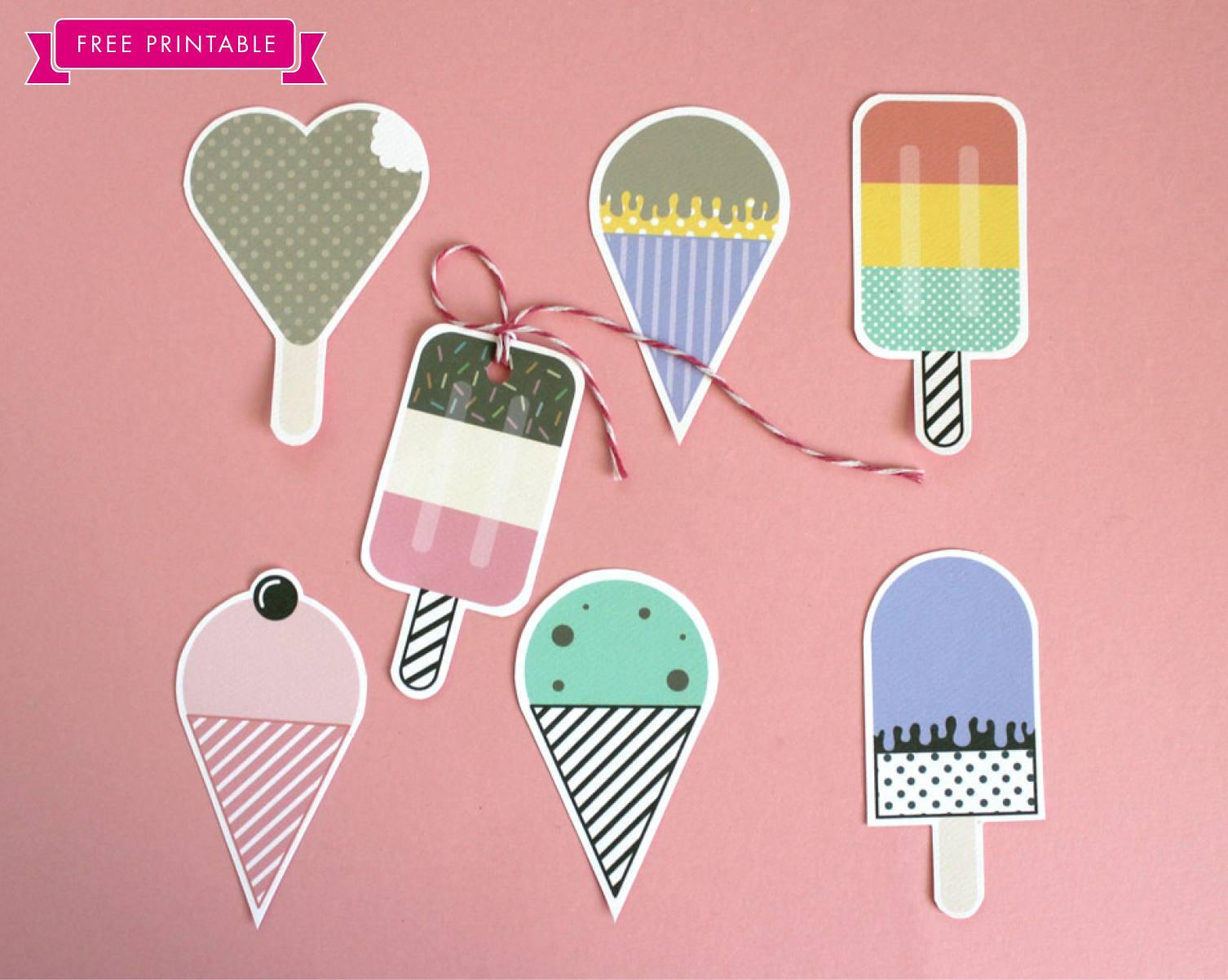 Ice Cream Party DIY Ideas