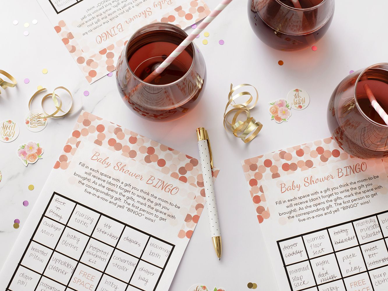 Free Baby Shower Bingo Cards Your Guests Will Love Throughout Blank Bingo Card Template Microsoft Word