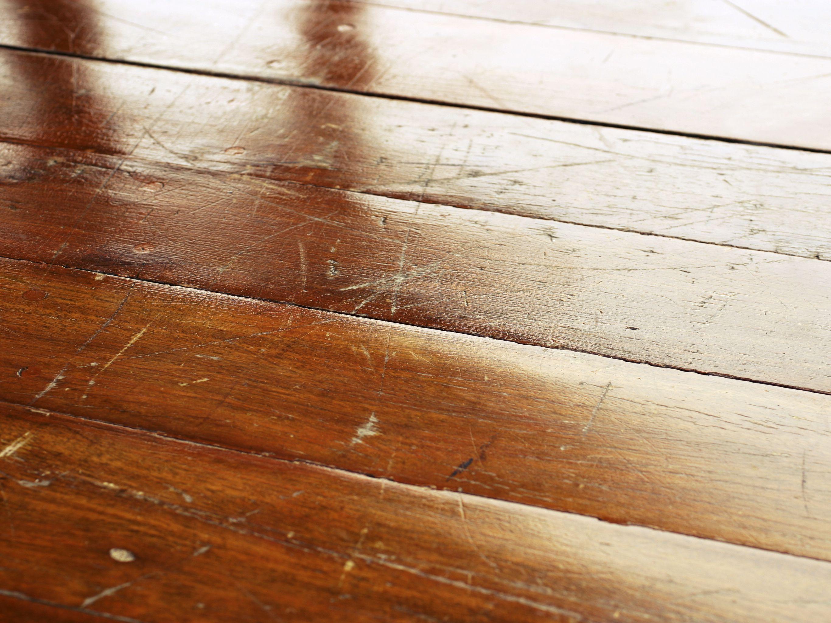 How to Repair Scratched Hardwood Floors