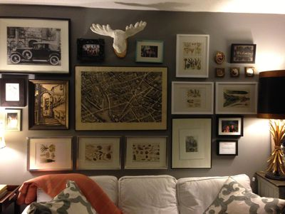 Art What To Use Where It And How Make All Work Together Living Room Ideas