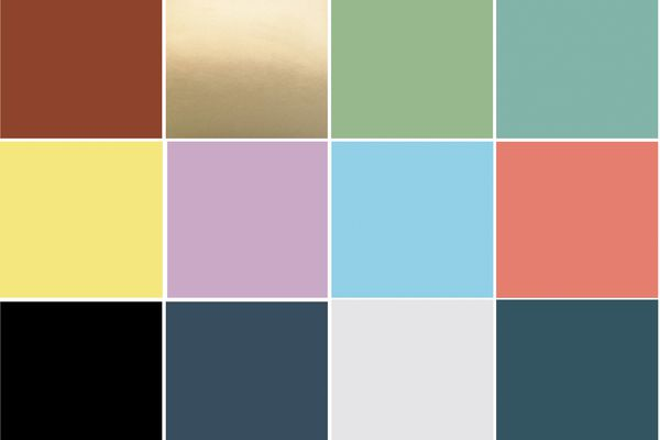 Krylon 2021 Colors of the Year Swatches