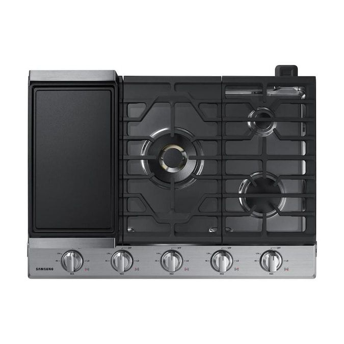 samsung-five-burners-30-inch-gas-cooktop-with-griddle