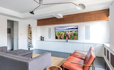 Embedded Speakers Home Theater