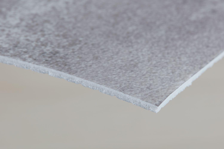 Sheet vinyl detail