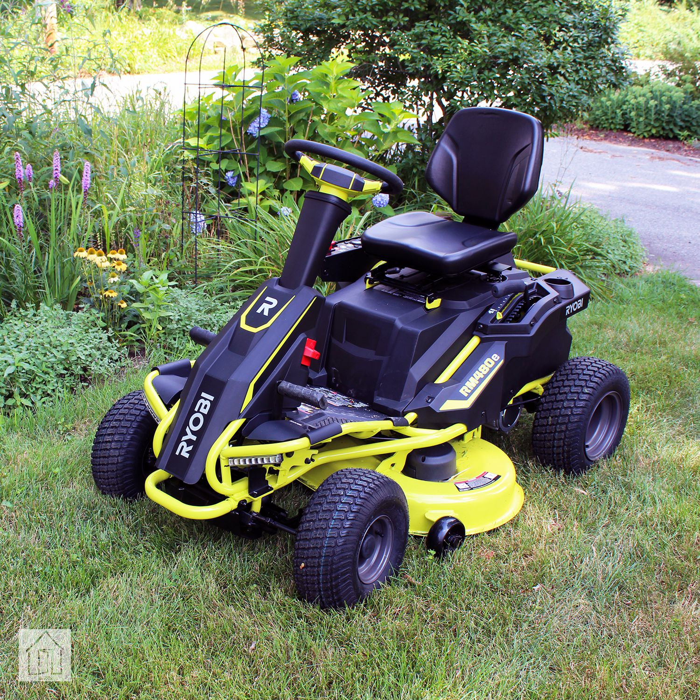 Ryobi Rm480e Electric Riding Mower Review Powerful Eco
