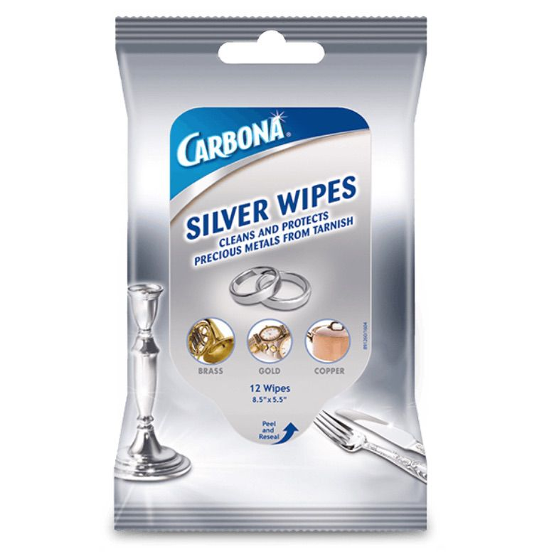 Carbona Silver Wipes