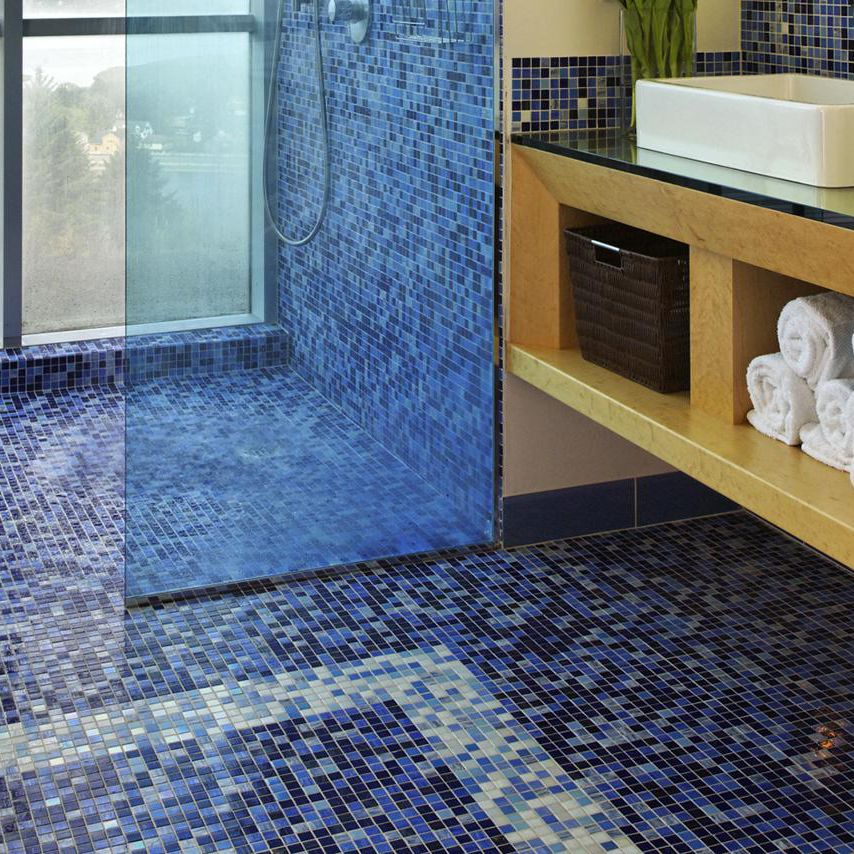 Pros And Cons Of Mosaic Glass Tile Flooring