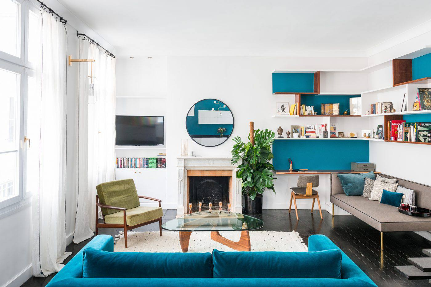 18 Gorgeous Living Room Color Schemes For Every Taste