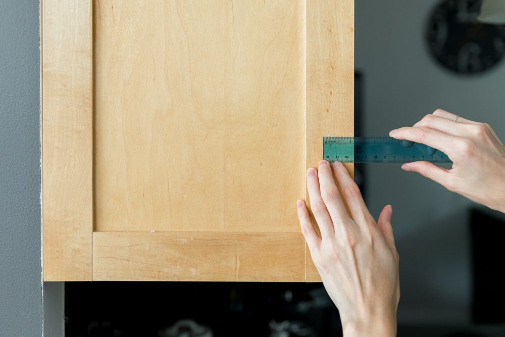How To Install Cabinet Hardware, How To Install Cabinet Pulls
