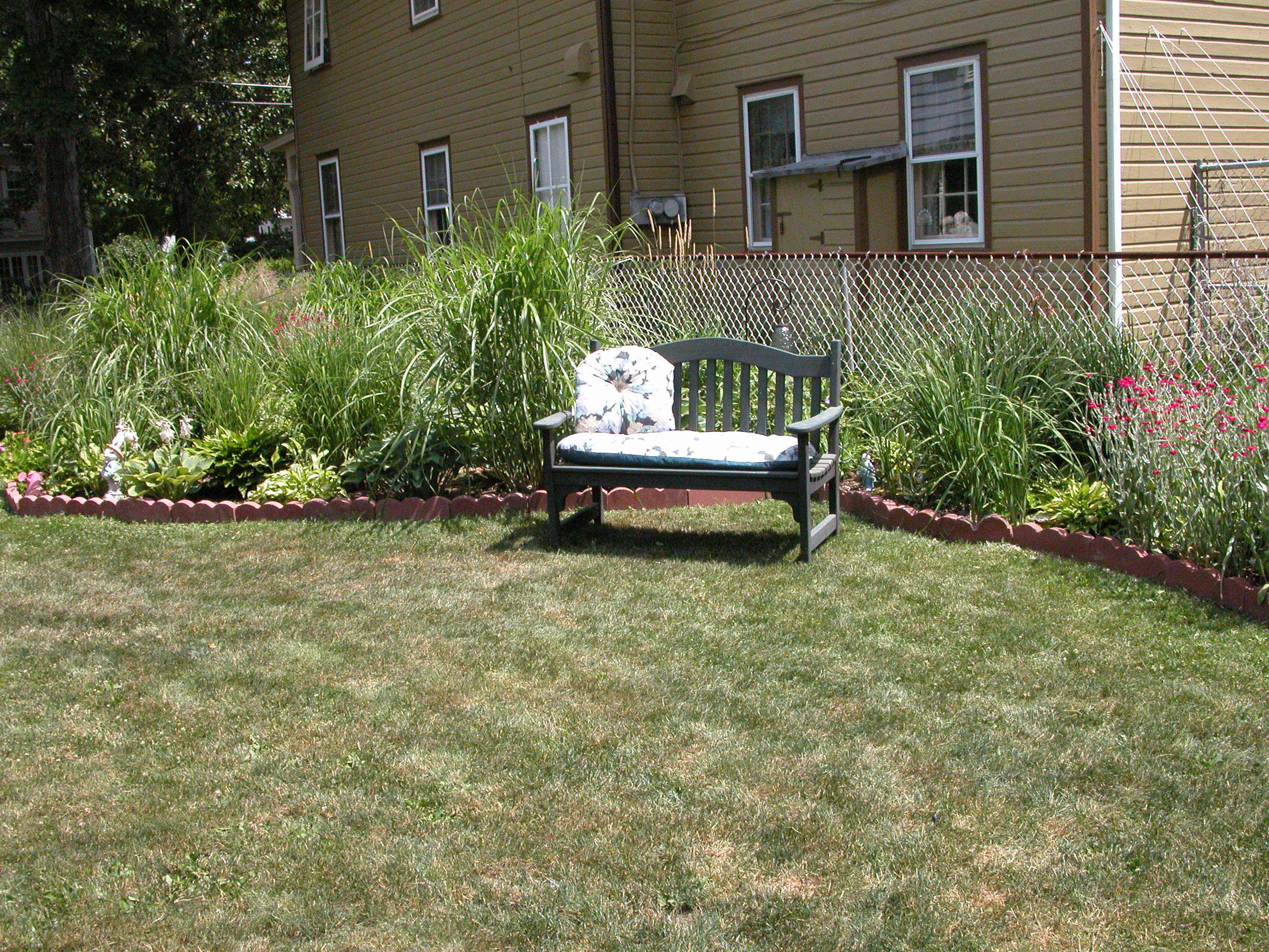Un lugar para relajarse en el jardín