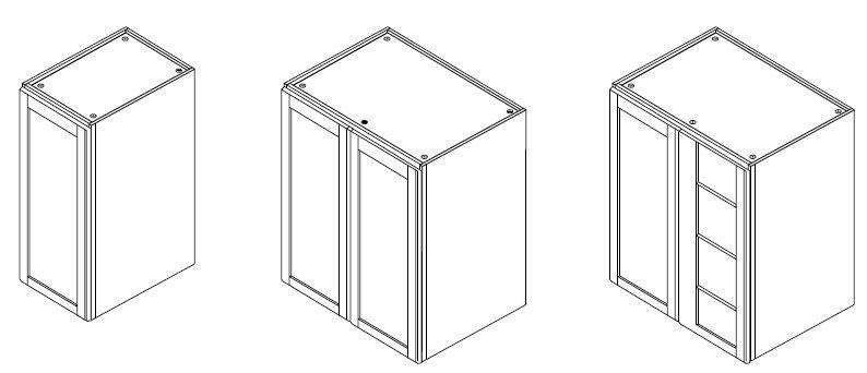 Bamboo Cabinet Sizes