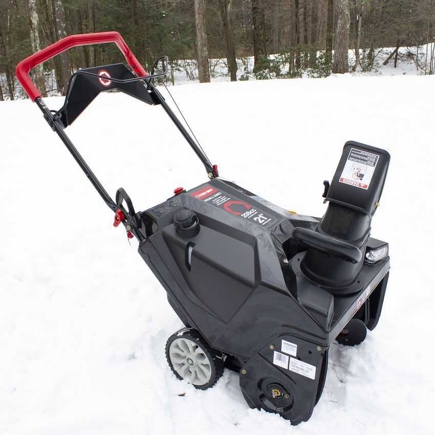 Troy-Bilt Squall Electric Start 21-Inch Gas Snow