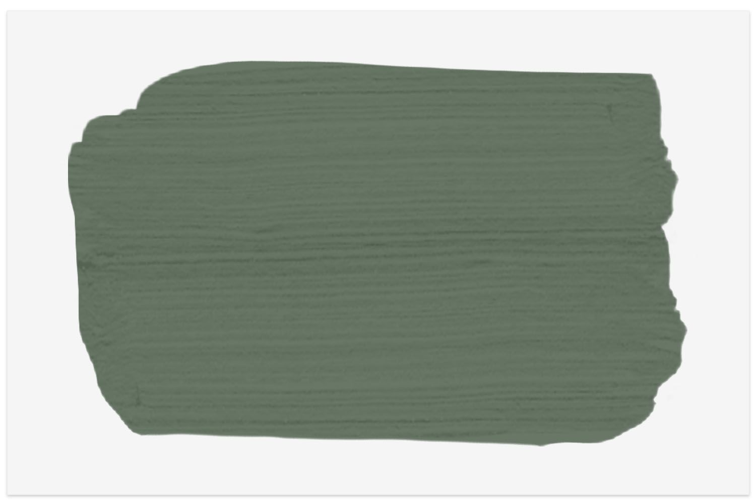 Benjamin Moore paint swatch in Cushing Green