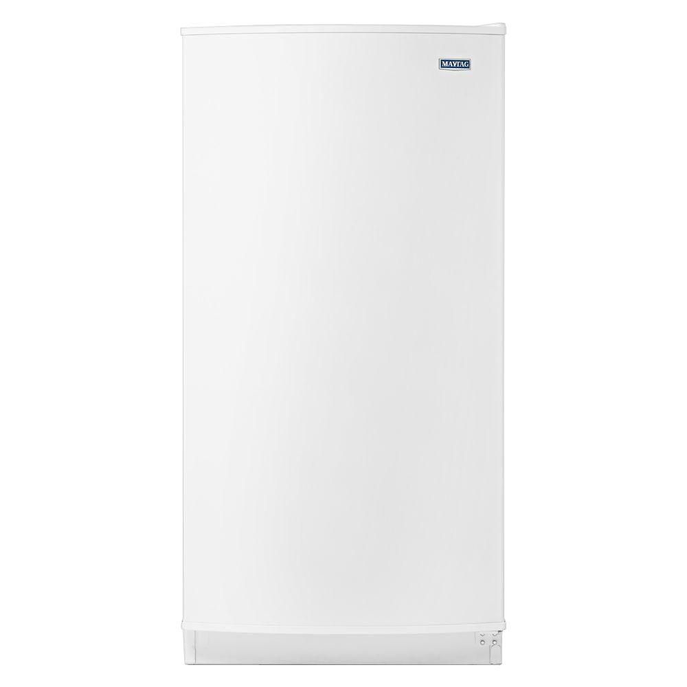 The Maytag Frost Free Upright Freezer has an automatic defroster and large capacity, but will stay within your budget.