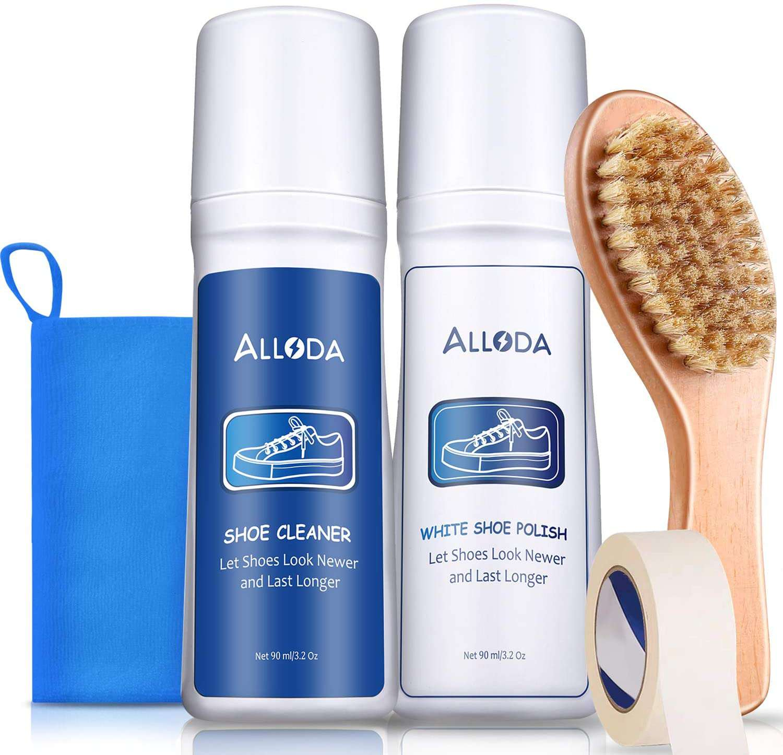 Alloda Shoe Cleaner + White Shoe Polish