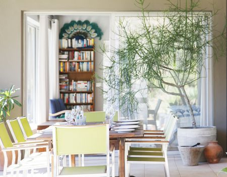 Create Bookshelves That Look Like A Gorgeous Backdrop