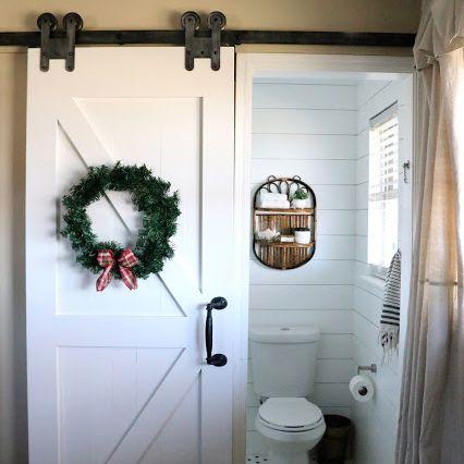 farm doors for a toilet