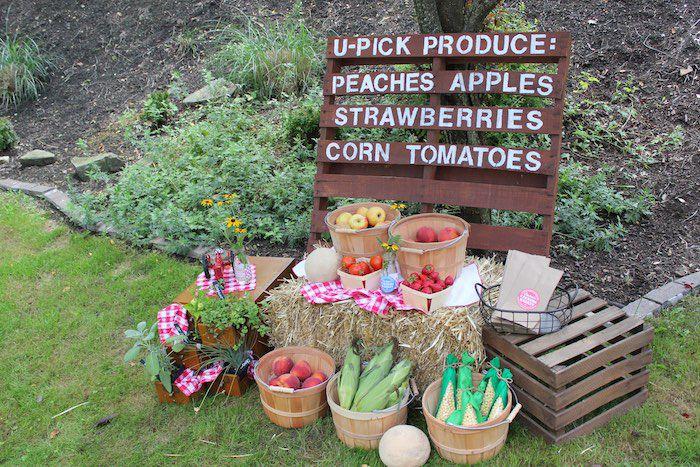 Rincón de productos U-Pick