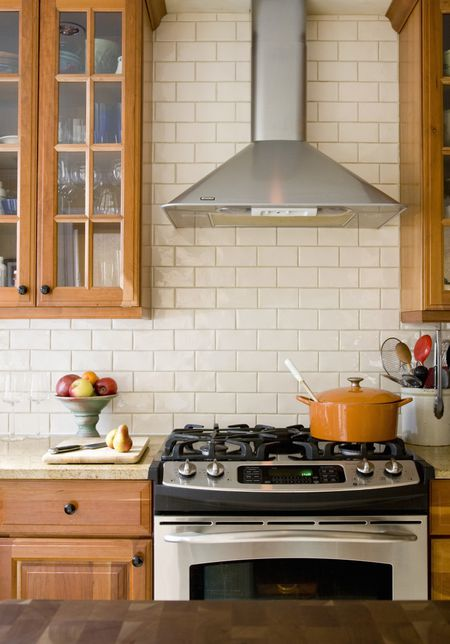 Pleasant Kitchen Tile Backsplash Tips Working Around Obstacles Download Free Architecture Designs Embacsunscenecom
