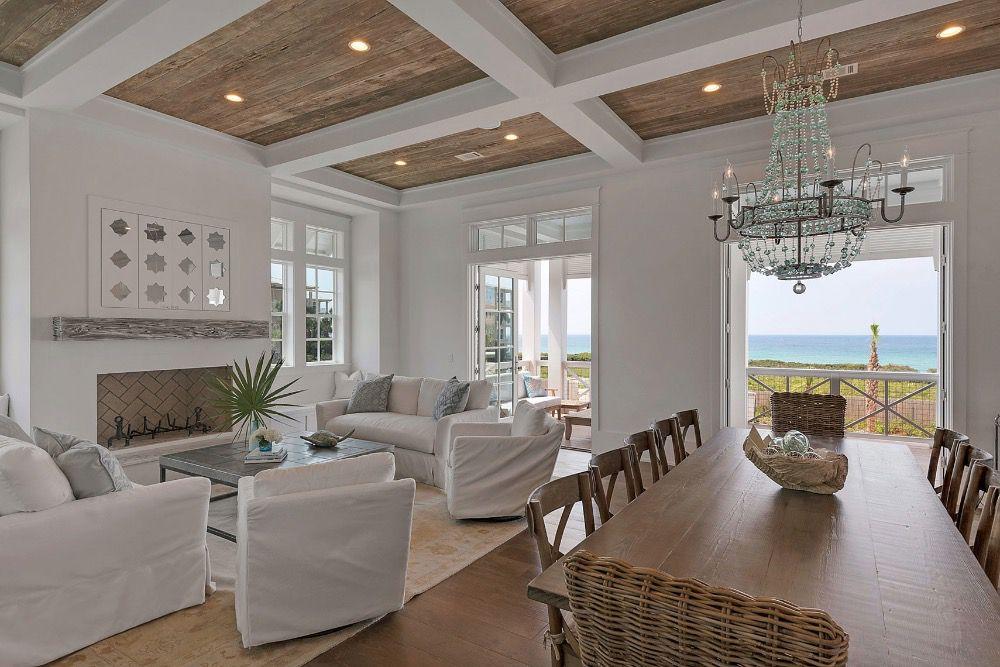 pale neutral coastal living room