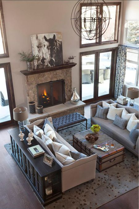 A Living Room With Traditional Home Decor Bunch Style Interiors