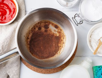 burnt pot