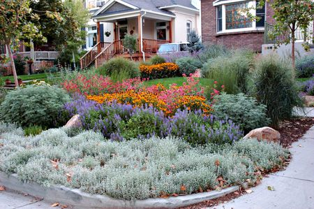 Breathtaking Garden - Landscape Makeover: Bungalow In Salt Lake City