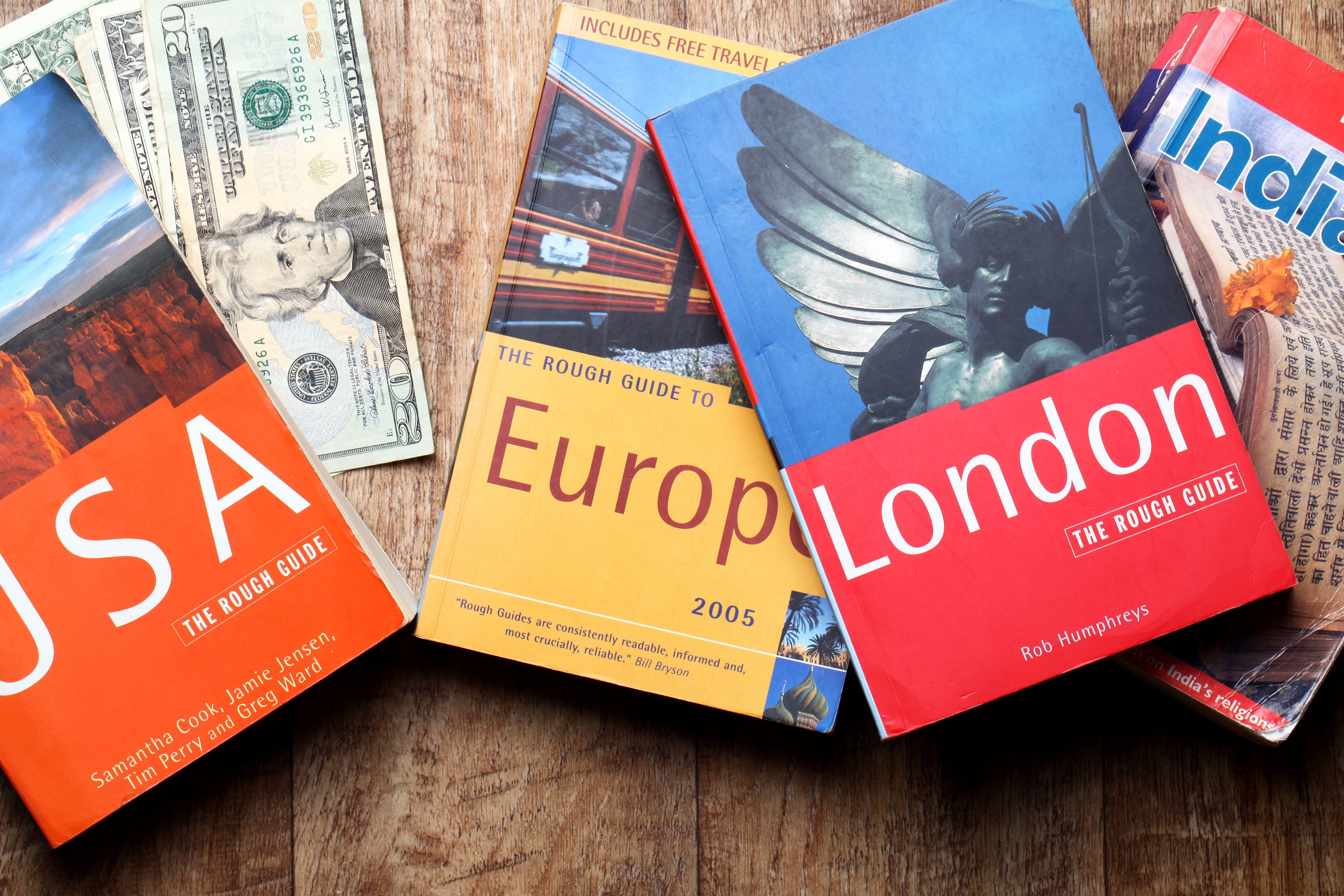 Travel guide books