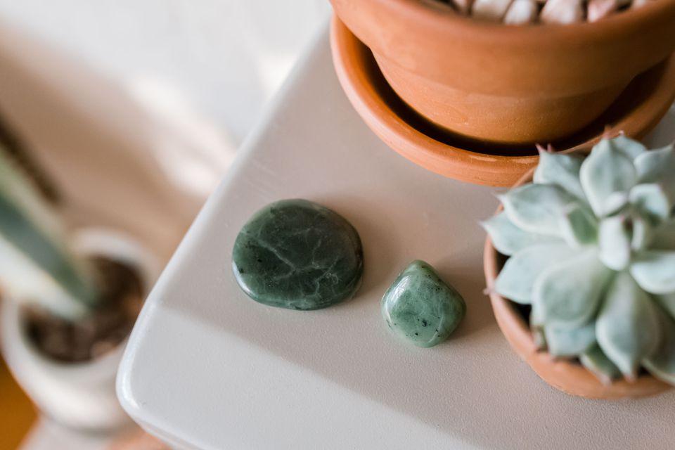 jade crystals