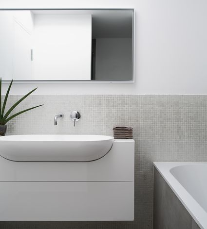 How To Get The Look Of Granite For Less - Average cost of bathroom renovation long island