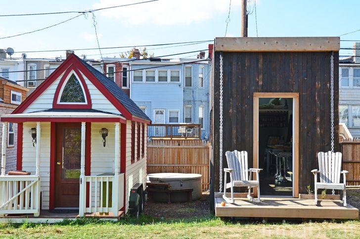 Boneyard Studios Tiny House Village in Washington D.C.
