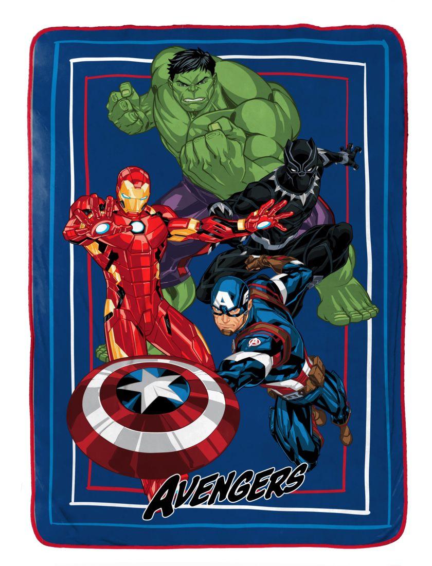 Marvel Avengers Hero Time Blanket