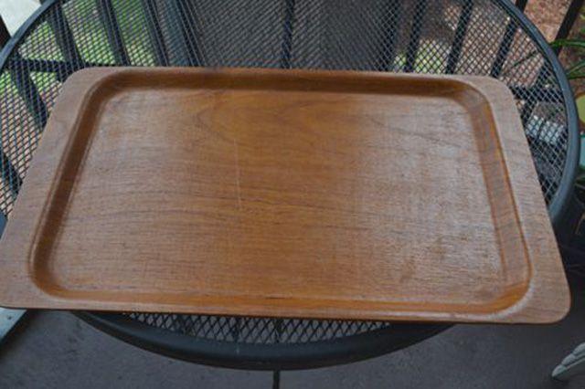 Refurbish a wooden tray