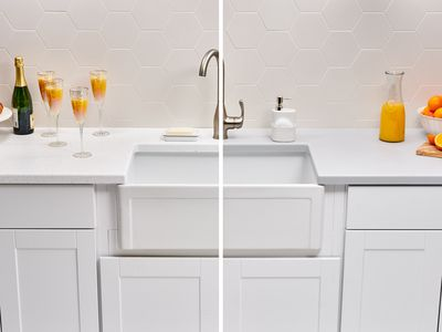 Polyester and Acrylic Solid-Surface countertop