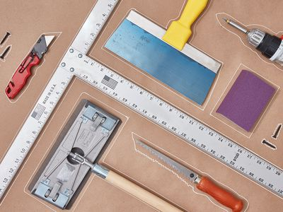 Drywall work tools