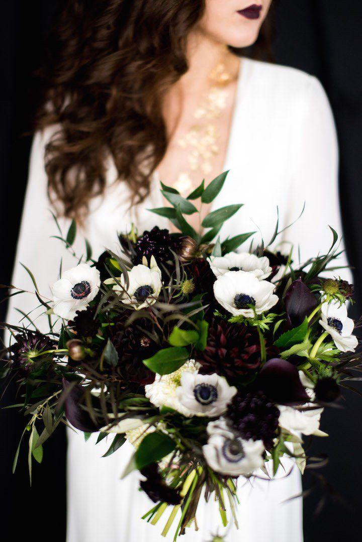 Anemone Winter Wedding Flower