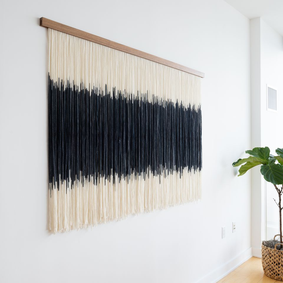 Wall hanging 57 inches above ground by Land and Sky Designs