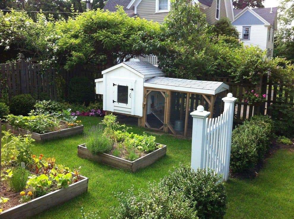 Rustic Garden Chicken Coop